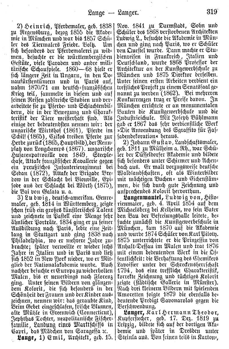 retro|bib - Seite aus Biographisches Künstler-Lexikon